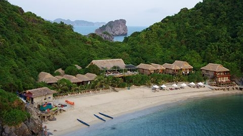 Monkey island lodge, Cat Ba ile
