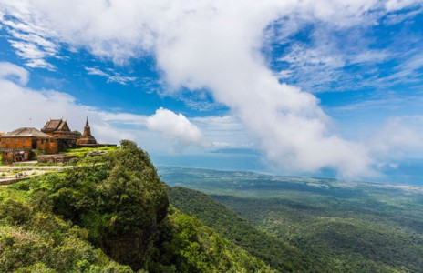 Parc national Bokor Cambodge