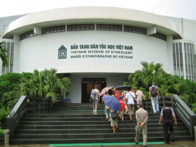 Vietnam museum of Etnology in Hanoi
