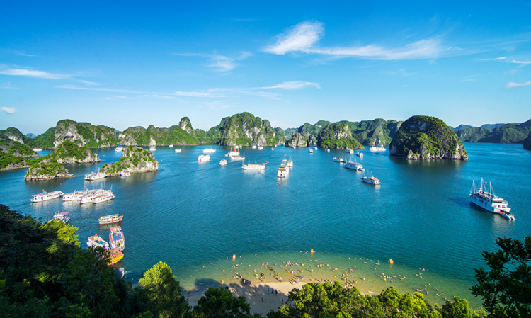Bangkok - Hanoi - Halong Bay - Hanoi - Bangkok ( 3 days/2nights)