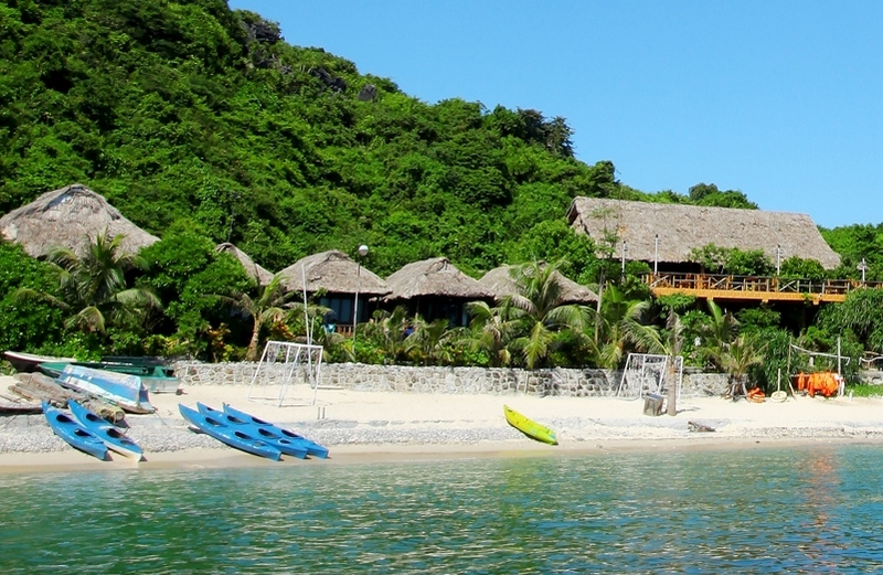 Voyage au Vietnam, Cat Ba island resort