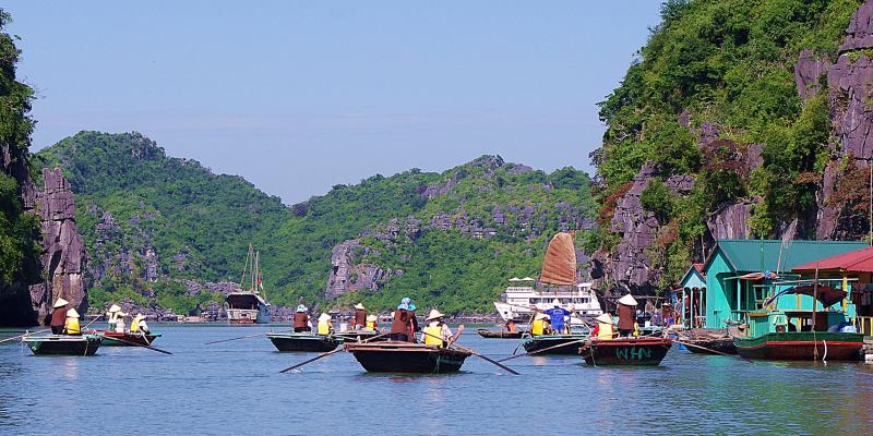 Voyage au Vietnam,Vinh Halong