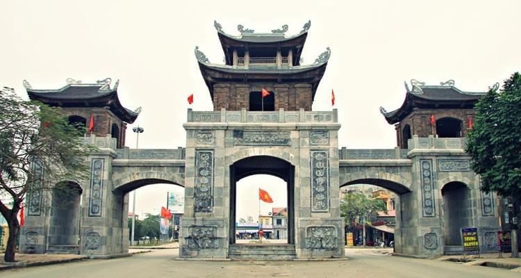 Entrée de l'ancienne Capitale de Hoa Lư